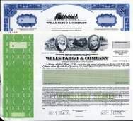 288: U.S. Wells Fargo & Co. Stock and ADR Assortment.