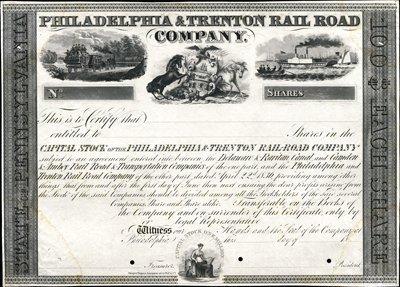 904: Pennsylvania. Philadelphia & Trenton Rail Road Co.