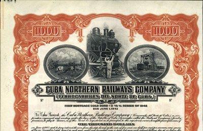 905: Cuba Cuba Northern Railways Company.