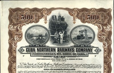 906: Cuba Cuba Northern Railways Company.