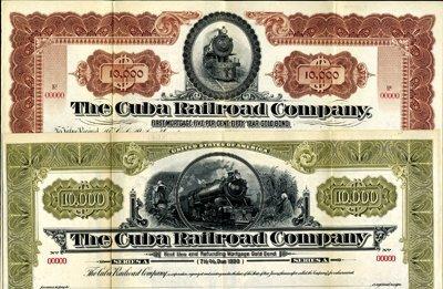 907: Cuba The Cuba Railroad Co. Quartet.