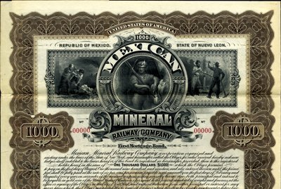 908: Mexico Mexican Mineral Railway Co.