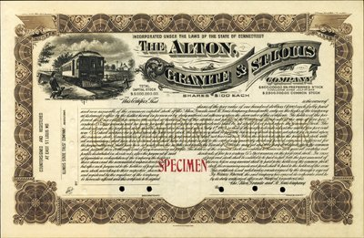 911: U.S. Alton, Granite & St. Louis Company.