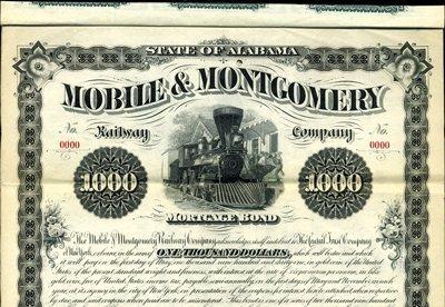 915: Alabama. U.S. Mobile & Montgomery Railway Co.