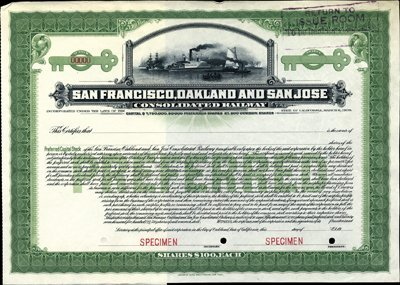 926: CA. San Francisco, Oakland and San Jose Rwy