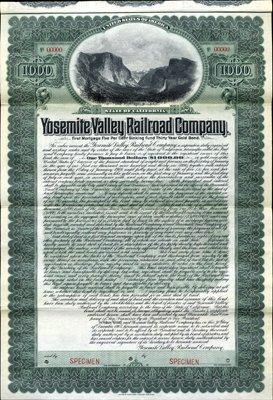 936: U.S. Yosemite Valley Railroad Co.