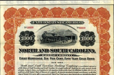 1137: North and South Carolina Railway Co.