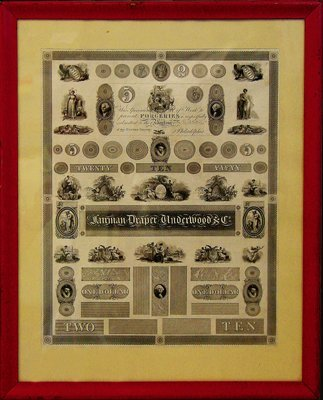 1679: Fairman Draper Underwood  Ad Vignette Sheet