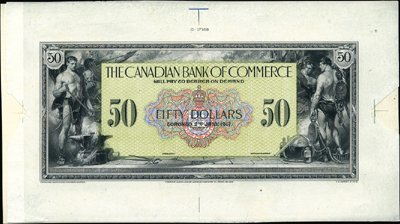 1934: Toronto. Canada The Canadian Bank of Commerce.
