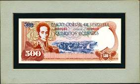 2602:Banco Central De Venezuela Original Artwork Essay