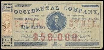 5907 CA Occidental Co For Gold Silver  Copper Min