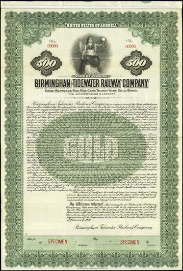 6072: Alabama. Birmingham-Tidewater Railway Company.