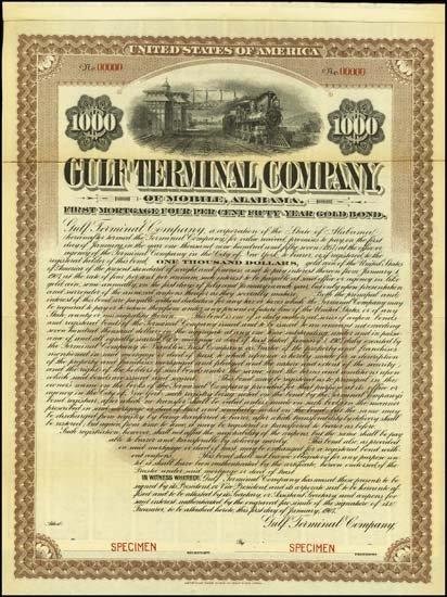 6073: Alabama. Gulf Terminal Company.