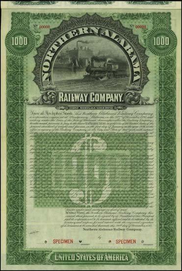 6075: Alabama. Northern Alabama Railway Company.