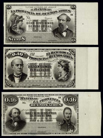 6822: Argentina. El Banco De La Provincia De Buenos Air