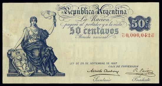 6825: Argentina. Republica Argentina - Caja De Conversi