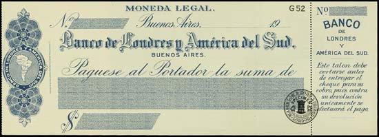 6828: Argentina. Uruguay. Waterlow Spec. Checks (3) 3 d