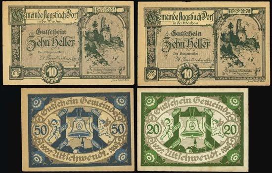 6830: Austria. Austrian Notgeld Assortment #1.