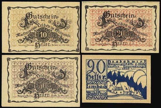 6831: Austria. Austrian Notgeld Assortment #2.