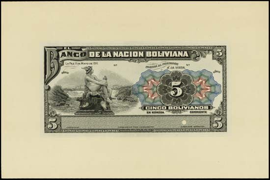 6838: Bolivia. El Banco Central De Bolivia and Banco Po