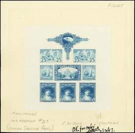 """9003: U.S.ABNC """"Spec."""" Stamp Sheetlet of 8 Proofs"""