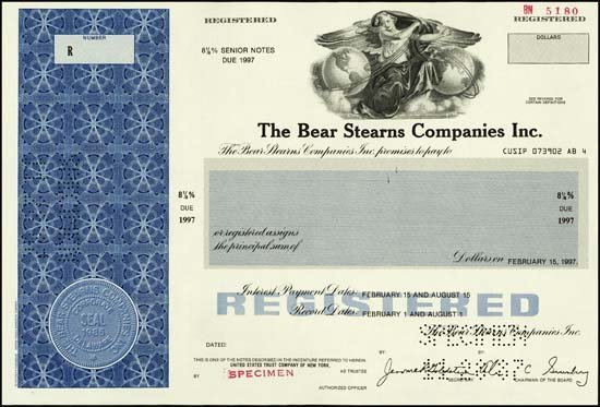 9016: New York. The Bear Sterns Companies Inc.