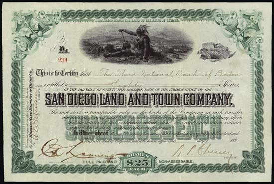 9022: CA. San Diego Land and Town Co.