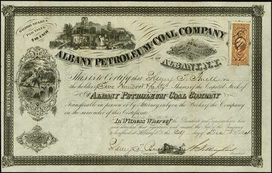 9023: Albany Petroleum & Coal Co. of Albany, N.Y.