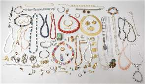 Mixed Lot Vintage Costume Jewelry