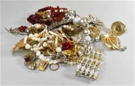 Vintage Costume Jewelry -Sarah Coventry, Monet