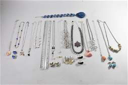 Lot of Costume Jewelry Necklaces, Earrings, KC, Cameo