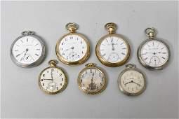 Antique Pocket Watches Hamilton Solar Washington Elgin