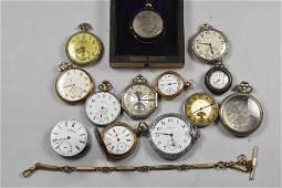 Mens and Womens Vintage Pocket Watches Elgin Illinois