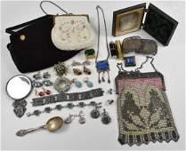 Victorian Vintage Jewelry Purses