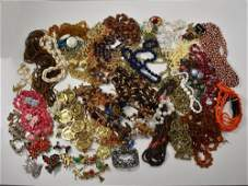 Large Lot 2030 Grams Vintage Costume Jewelry