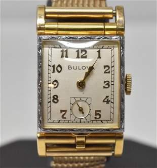 Man's Wristwatch by Bulova Convertible