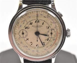 Bucherer Single Button Chronograph
