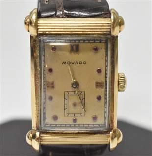 14K Movado 1940's Wristwatch