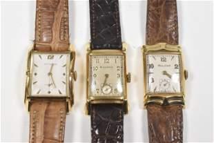 3 - 14K Men's Watches