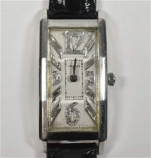 Longines Diamond Dial Platinum watch