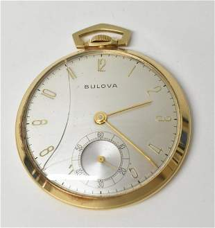 Bulova 14K 12S Presentation Watch