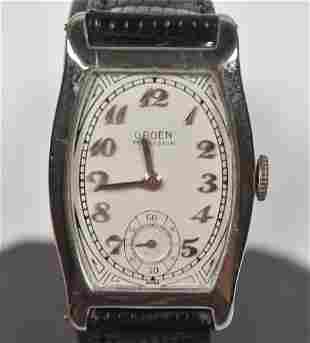 Gruen Tonneau 18K 1920's