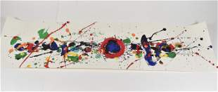 Swatch Art Special Lithograph by Sam Francis