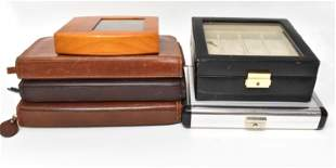 Group of Watch Storage Containers