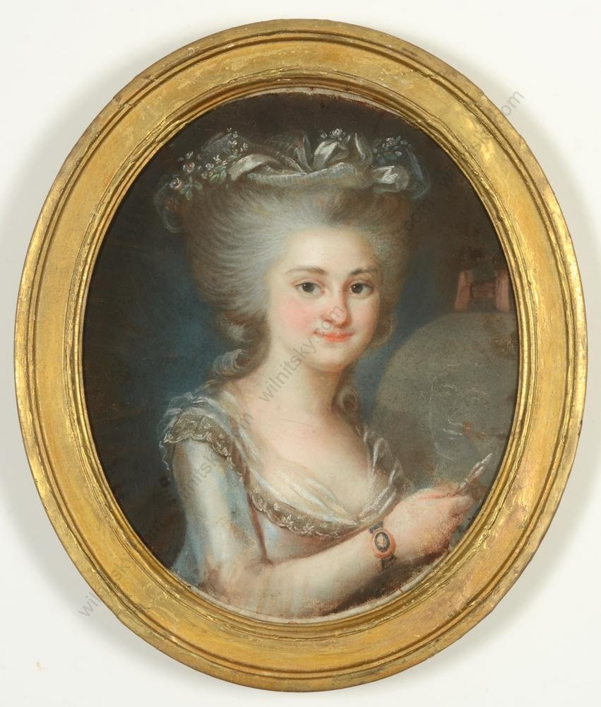 """Mme Adelaide Labille-Guiard-Circle """"Portrait of a young"""