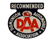 DOMINION AUTOMOBILE ASSOCIATION RECOMMENDED SIGN
