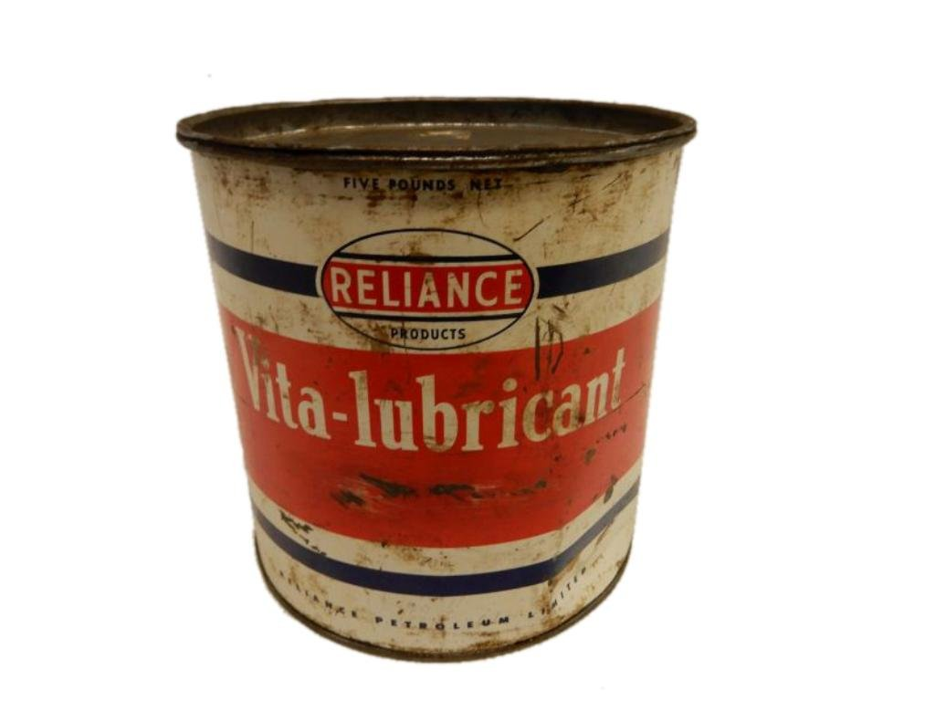 RELIANCE VITA-LUBRICANT 5 LBS GREASE CAN