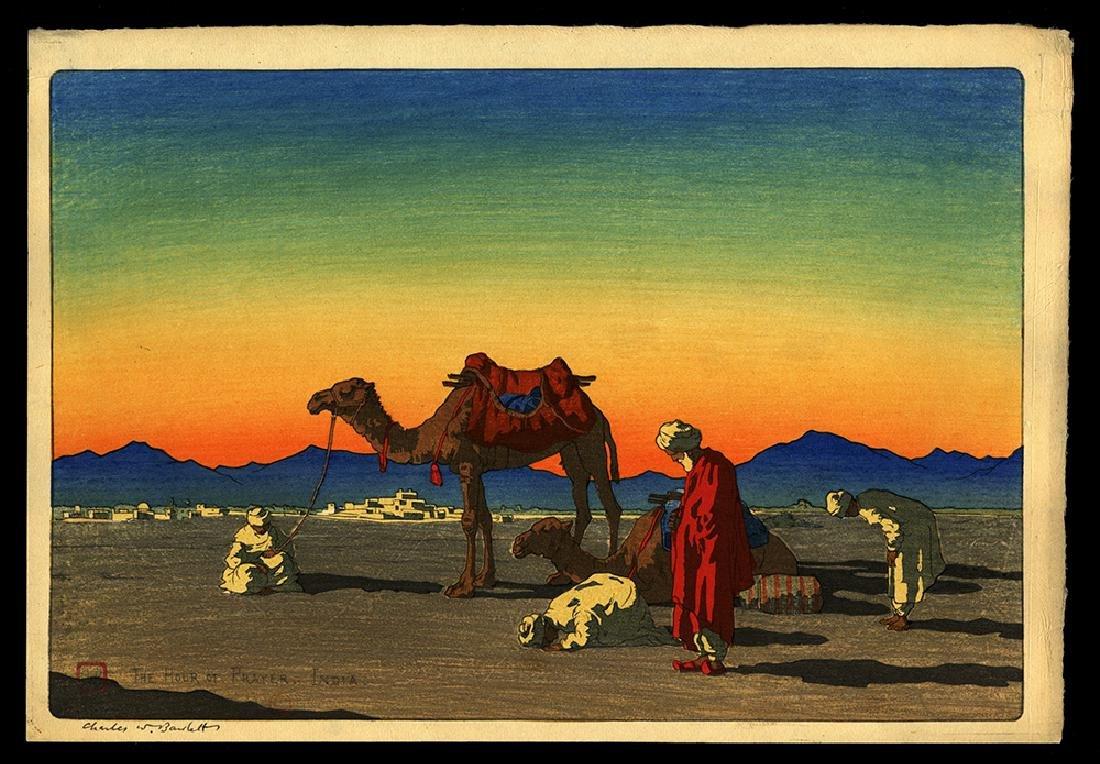 Charles W. Bartlett - Japanese Print