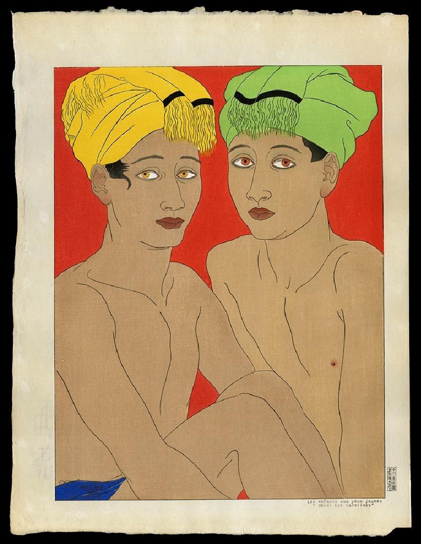 Paul Jacoulet - Japanese Print