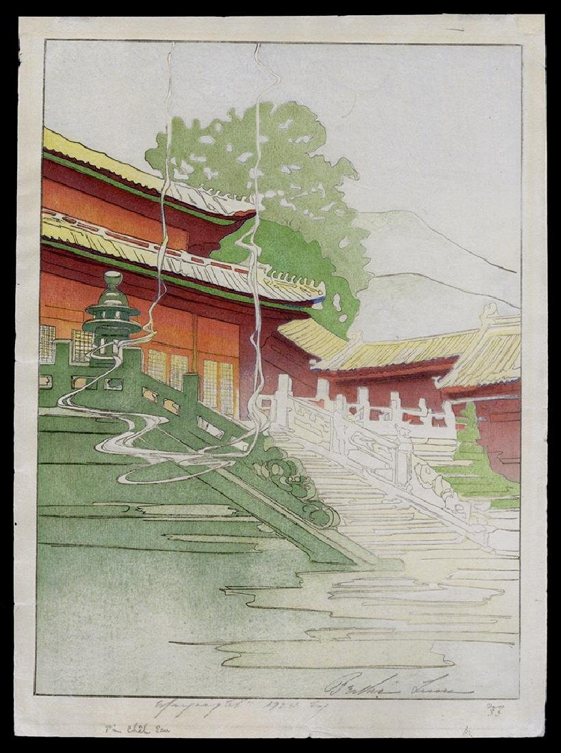 Bertha Lum - Japanese Print